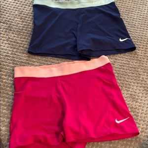 Women's Nike Pro shorts